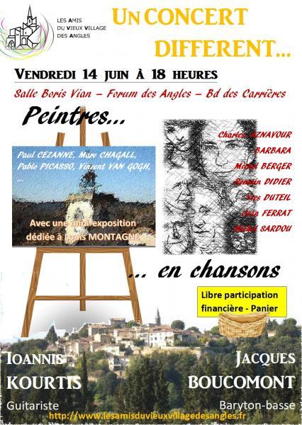 Affiche concert peintres 140619