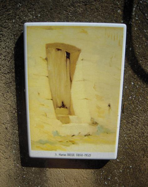 La vieille porte - Marius Breuil