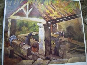 Le lavoir - Jean Angladon
